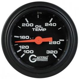 5022 2 ELECTRIC OIL TEMP. 100-320 F Black