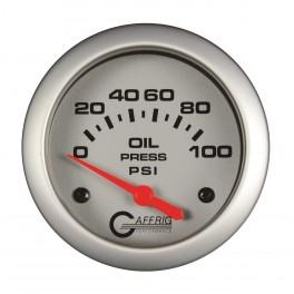 11002 2 5/8 ELECTRIC OIL PRESSURE 0-100 PSI - INCLUDES SENDER Platinum
