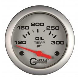 11003 2 5/8 ELECTRIC OIL TEMP 100-300 F - INCLUDES SENDER & BUSHING KIT Platinum