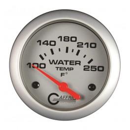 11006 2 5/8 ELECTRIC WATER TEMP 100-250 F - W/SENDER & BUSHING KIT Platinum