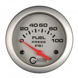 11008 2 5/8 ELECTRIC FUEL PRESSURE 0-100 PSI - INCLUDES SENDER Platinum