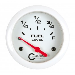 13000 2 5/8 ELECTRIC FUEL LEVEL 240-33 OHMS White