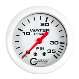 13014 2 5/8 MECHANICAL WATER PRESSURE 0-35 PSI White