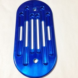 38 SMALL VENT PLATE - SINGLE - ROUND END