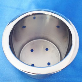100 SMALL STAINLESS STEEL DRINK HOLDER