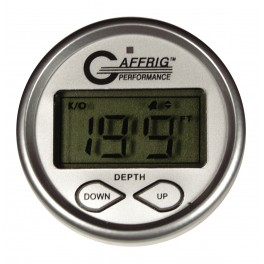5807 HIGH PERF. DIGITAL DEPTH SOUNDER KIT-PLATINUM- W/ALARM AIR & WATER TEMP. AND TRANSDUCER