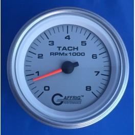 4755 3 3/8 ELECTRIC TACHOMETER 0-8000 RPM PLATINUM