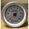 4751 3 3/8 ELECTRIC TACHOMETER 0-10000 RPM PLATINUM