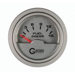 """5806 2"""" ELECTRIC FUEL PRESS. 0-15 PSI PLATINUM"""