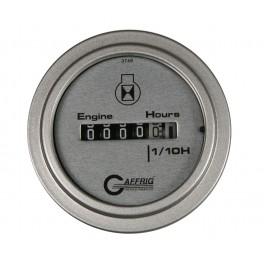"""5810 2"""" ELECTRIC ENGINE HOUR METER PLATINUM"""