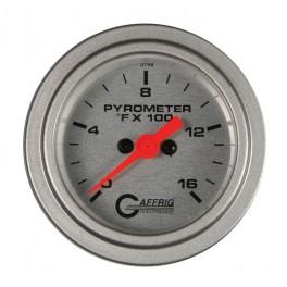 "5824 2"" ELECTRIC PYROMETER 0-1600 F PLATINUM"