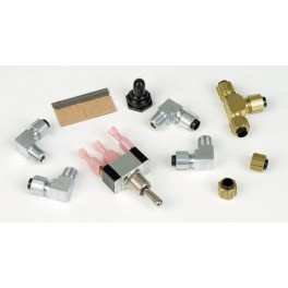 1405 FITTING KIT FOR MUFFLERS SINGLE ENGINE