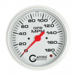4542 4 5/8 GPS ANALOG 90 MPH SPEEDOMETER KIT WHITE