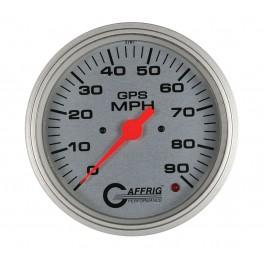 4551 4 5/8 GPS ANALOG 180 MPH SPEEDOMETER HEAD ONLY PLATINUM