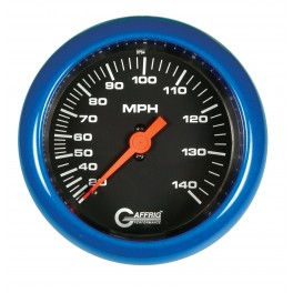4010 3 3/8 MECHANICAL DRY SPEEDOMETER 140 MPH BLACK