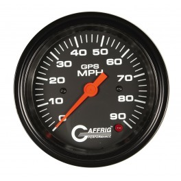 4025 3 3/8 GPS ANALOG 120 MPH SPEEDOMETER KIT- BLACK