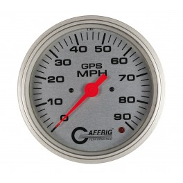 4552 4 5/8 GPS ANALOG 180 MPH SPEEDOMETER KIT PLATINUM
