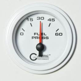 5508 2 ELECTRIC FUEL PRESS. 0-60 PSI White