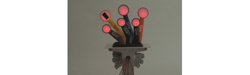 Lighted Handles with Switches