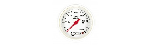 gauges gaffrig performance superior boating performance products gps speedometers white