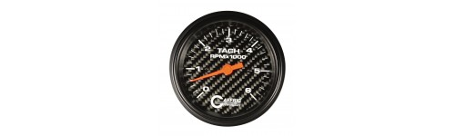 Tach and Tach/Hour Meters Carbon Fiber