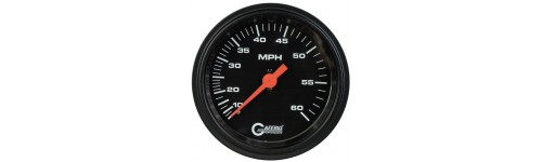 Dry Mechanical Speedometers Black